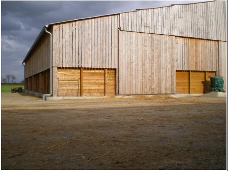 Entreprise fabrice pouget construction batiments for Architecte batiment agricole