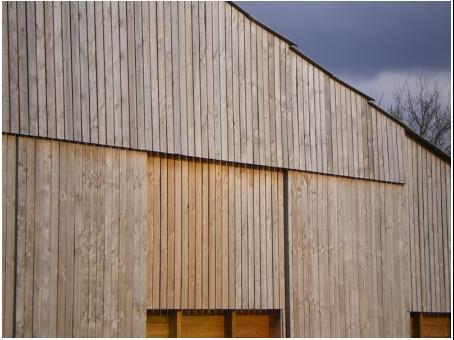 Entreprise fabrice pouget construction batiments for Bardage douglas prix m2