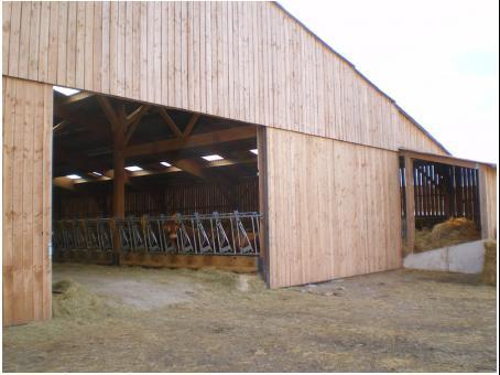 Entreprise fabrice pouget construction batiments for Construction agricole